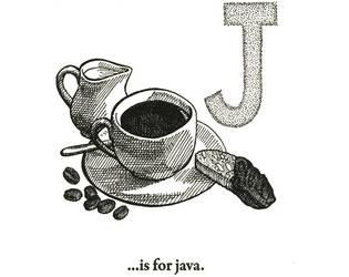J is for Java by scheherazade