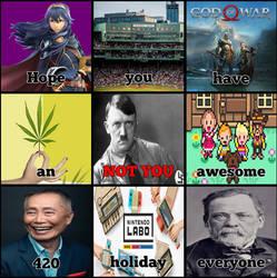 Happy 420 Everyone!
