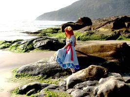 Marin at the sea by luna-ishtarcosplay