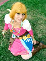 Skyward Sword Zelda by luna-ishtarcosplay