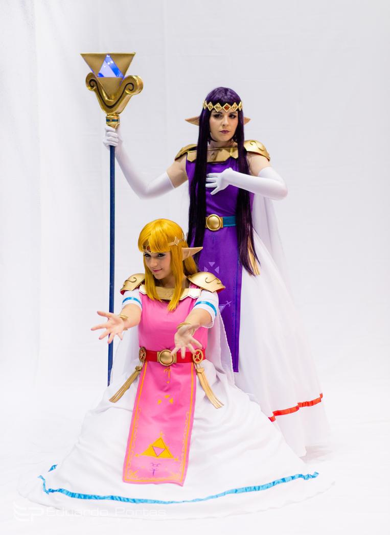 Hirule and Lowrule Princessses by luna-ishtarcosplay