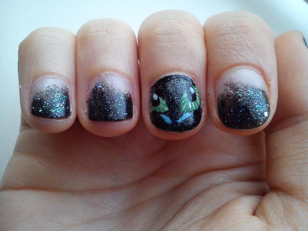 How To Train Your Dragon Nail Art By Amber6277 On Deviantart