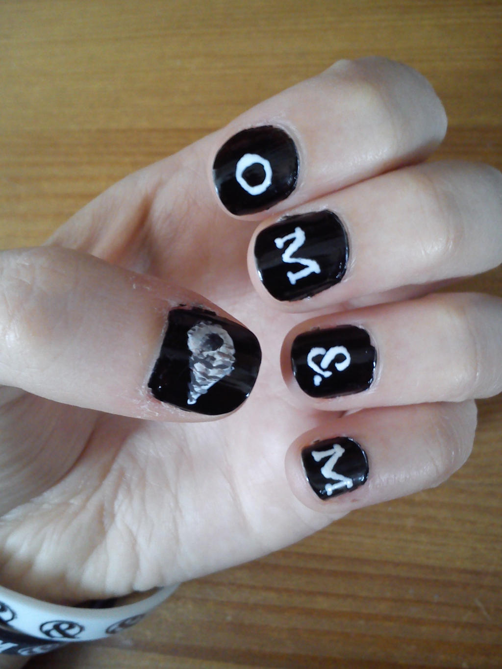 Of mice and men nail art restoring force by amber6277 on deviantart of mice and men nail art restoring force by amber6277 prinsesfo Image collections
