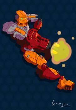 Bionicle moc- starfire