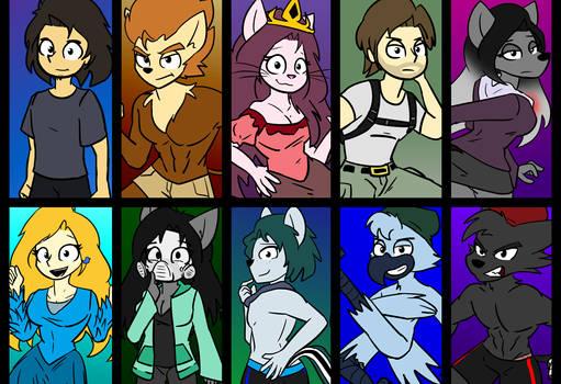 Best characters of Birdfitblu