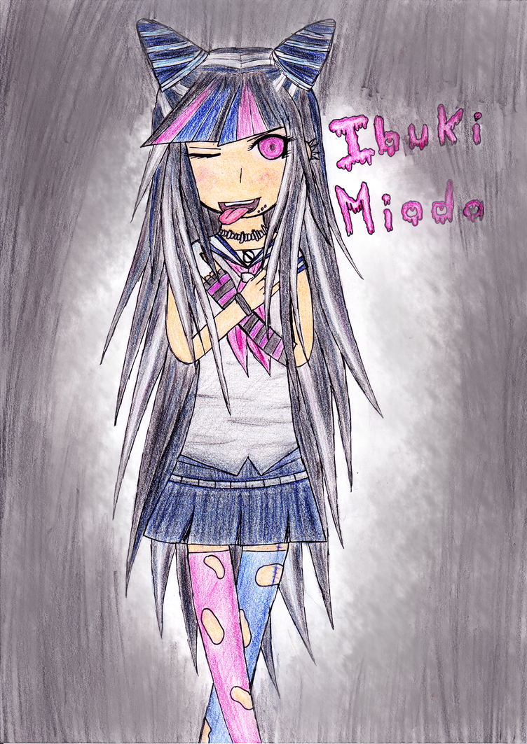 Fan-art d'Ibuki Mioda by Leandraw