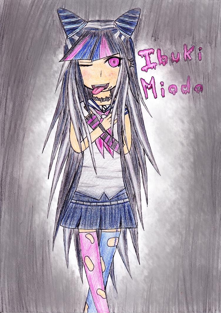 Fan-art d'Ibuki Mioda by Leandraw