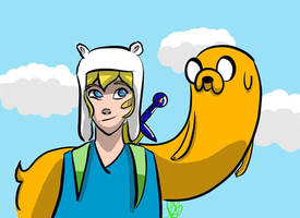 Adventure Time by Cheliseville