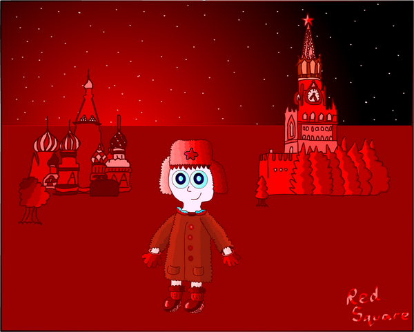 Red Square by MidnightInMoscow