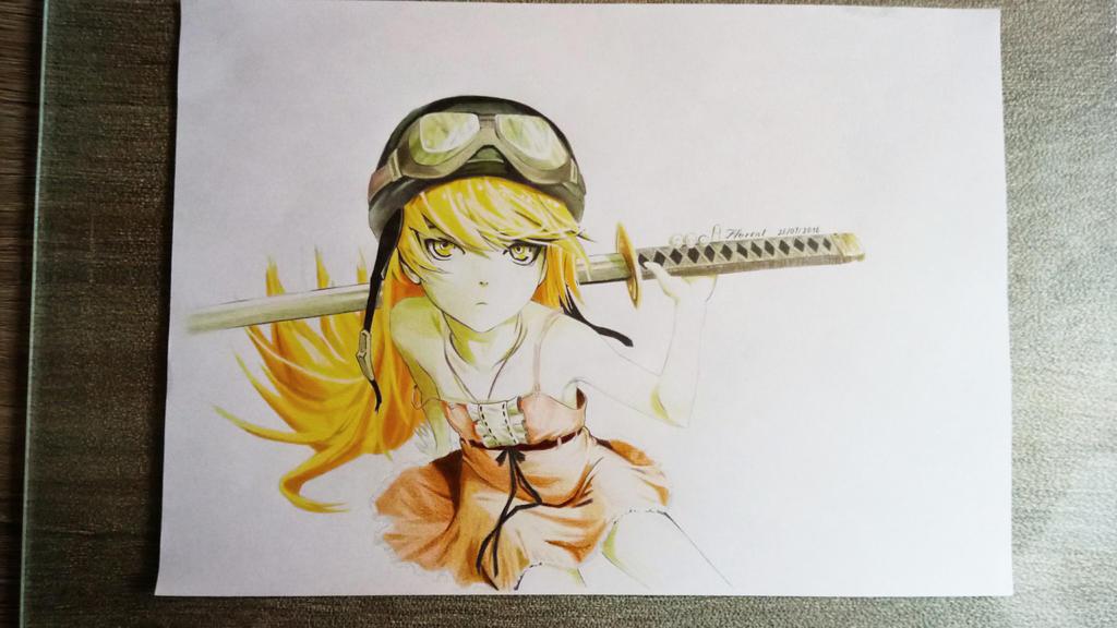Shinobu Oshino [Monogatari] by Fl0wrang