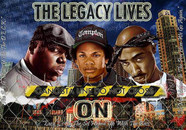 Legends of Rap by lobosco04