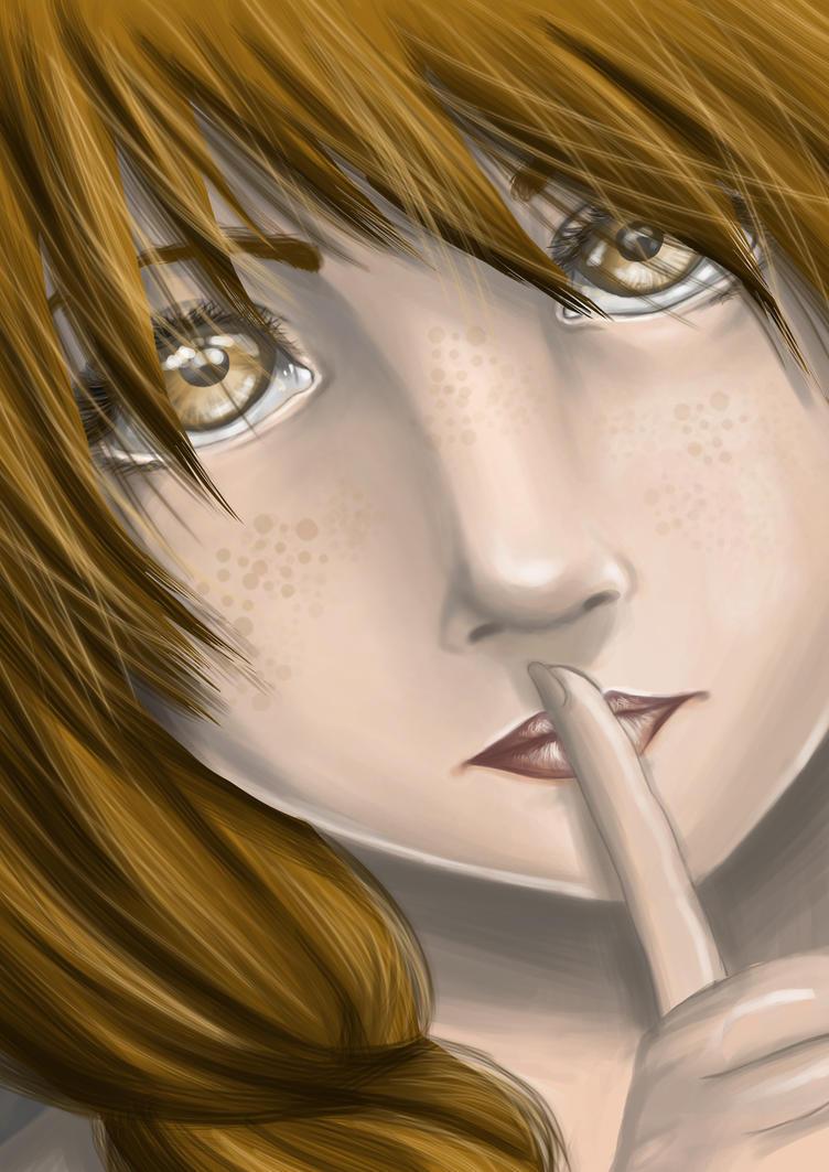 Sssshhhh... it's our secret... by tsukiyo-art