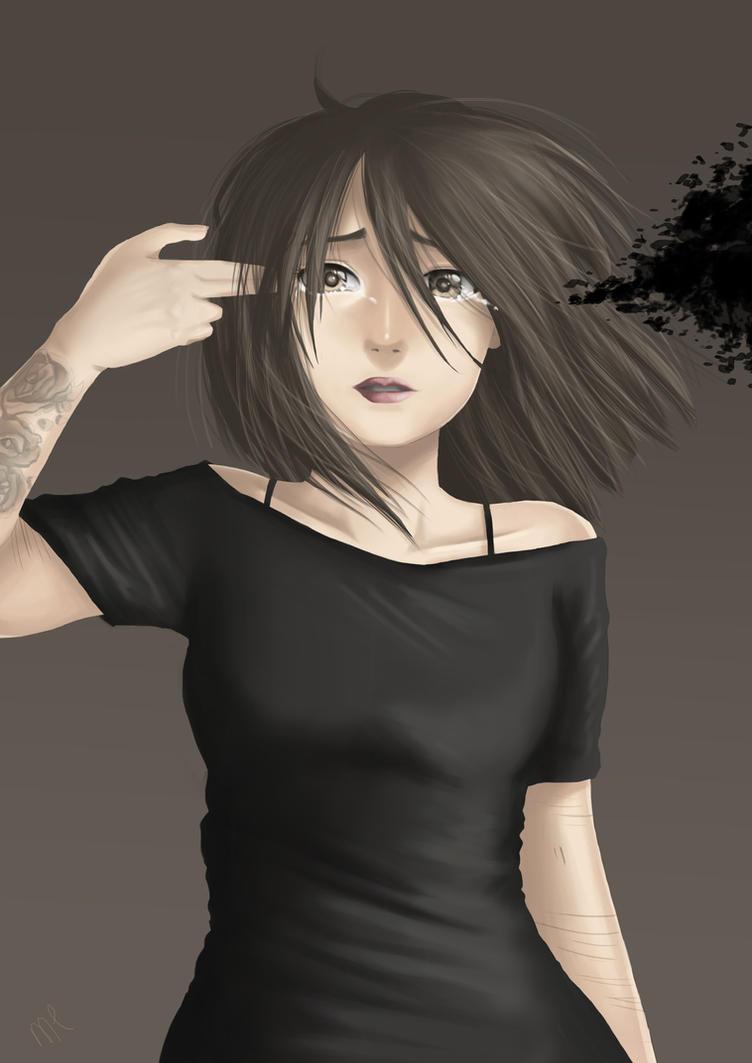 Suicide by tsukiyo-art