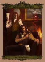 The Lestrange Brothers by WhiteElzora