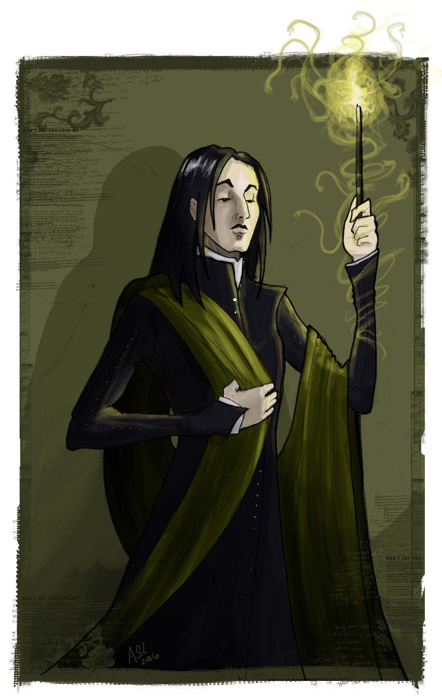 Severus Snape by WhiteElzora