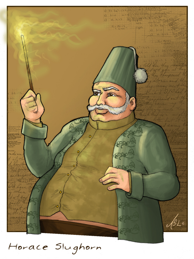 Horace Slughorn by WhiteElzora