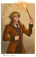 Remus Lupin by WhiteElzora