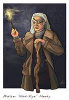 Alastor Moody by WhiteElzora