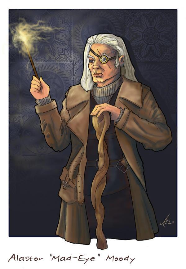 Alastor Moody by WhiteElzora on DeviantArt
