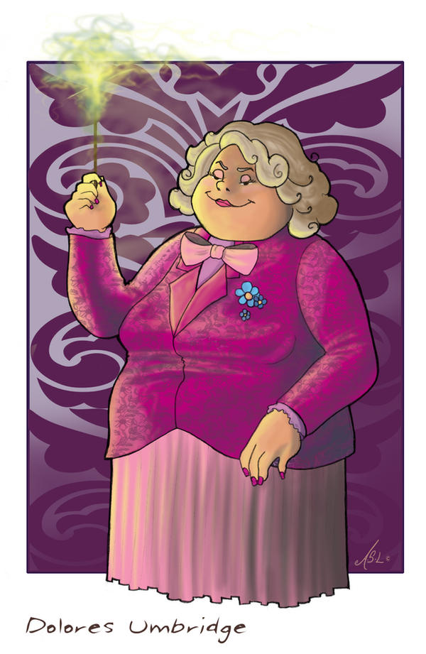 Dolores Umbridge by WhiteElzora
