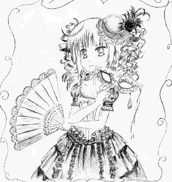 kawaii anime girl. Anime Girl 3 by ~Kawaii-Neko96 on deviantART
