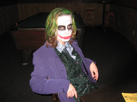 Can't a Clown Relax in a Bar?