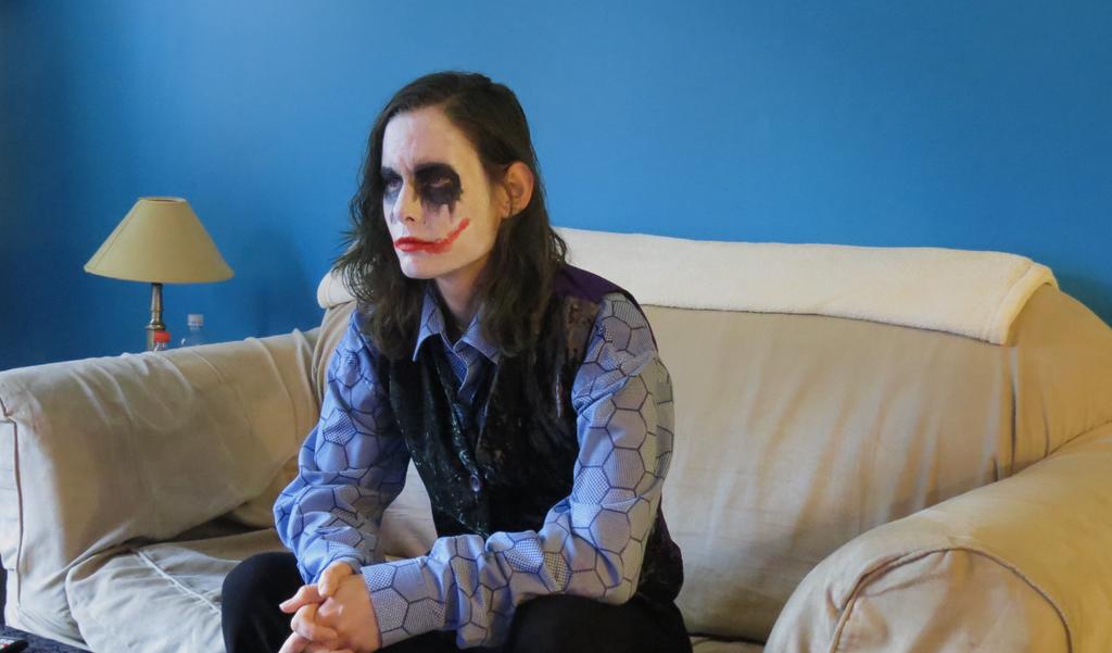 Joker Halloween Cosplay 2014-1 by takamo