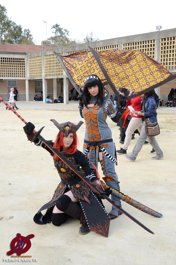 Cosplay Monster Hunter FU by Atsukine-chan