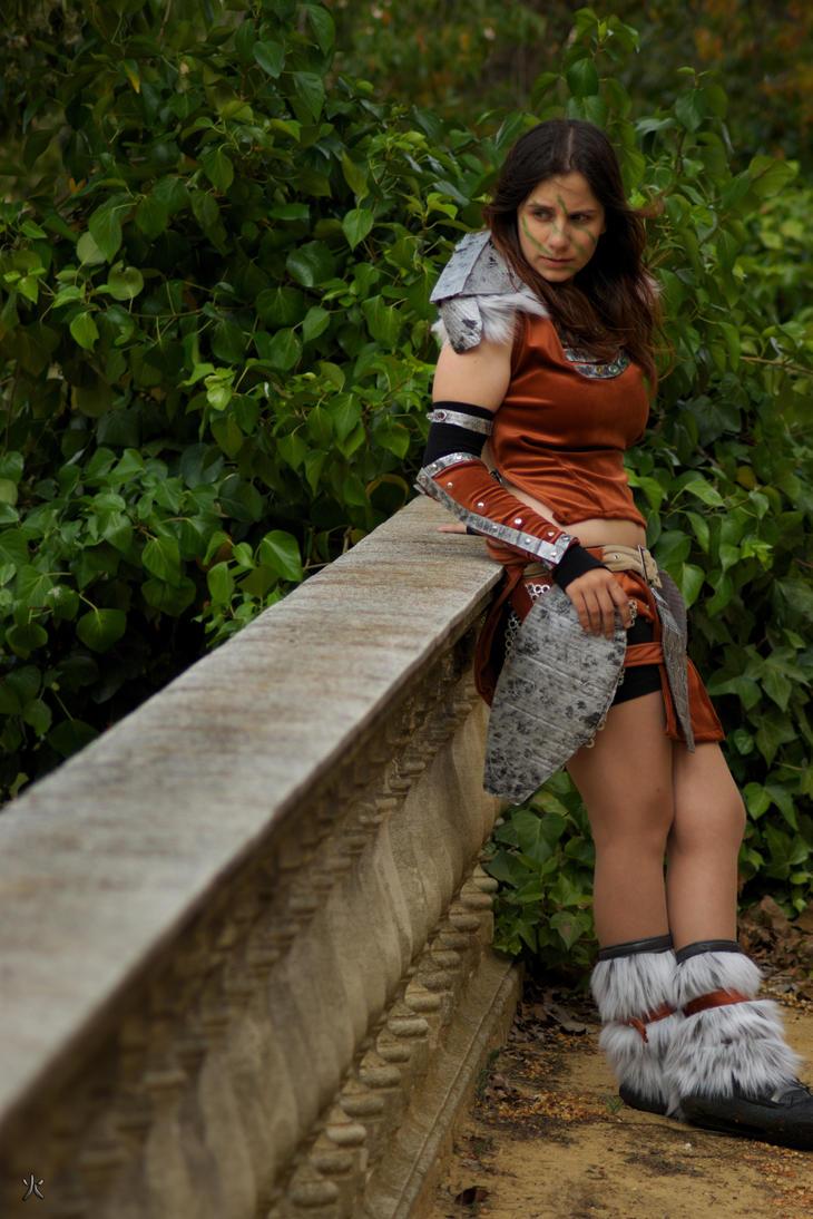 Aela the Huntress - Skyrim - 1 by Atsukine-chan