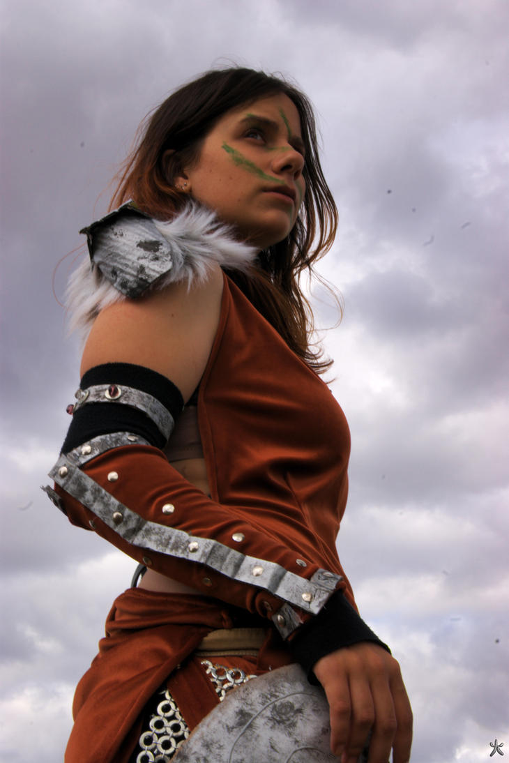 Sovngarde 2 - Aela the Huntress - Skyrim by Atsukine-chan