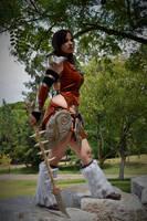 Aela the Huntress - TESV Skyrim - 7 by Atsukine-chan