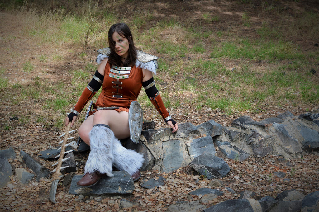Aela the Huntress - TESV Skyrim - 10 by Atsukine-chan