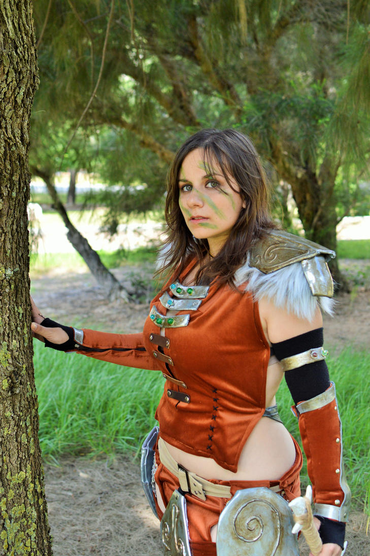 Aela the Huntress - TESV Skyrim - 12 by Atsukine-chan