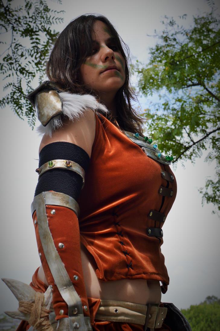 Aela the Huntress - TESV Skyrim - 13 by Atsukine-chan