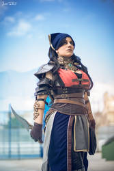 Isabela - Dragon Age II - 1 (Concept art) by Atsukine-chan