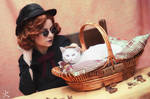 Nanny Ashtoreth and Brother Whiskers - Good Omens
