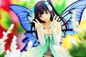 A fairy in the garden by HunterX-v2
