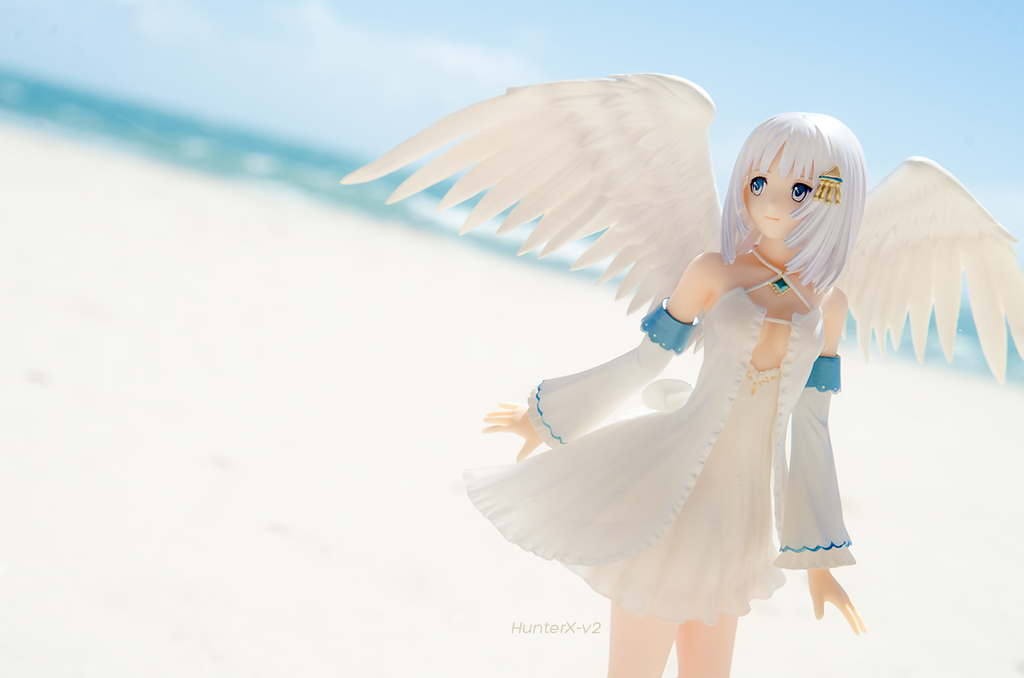 An Angel in the sand by HunterX-v2
