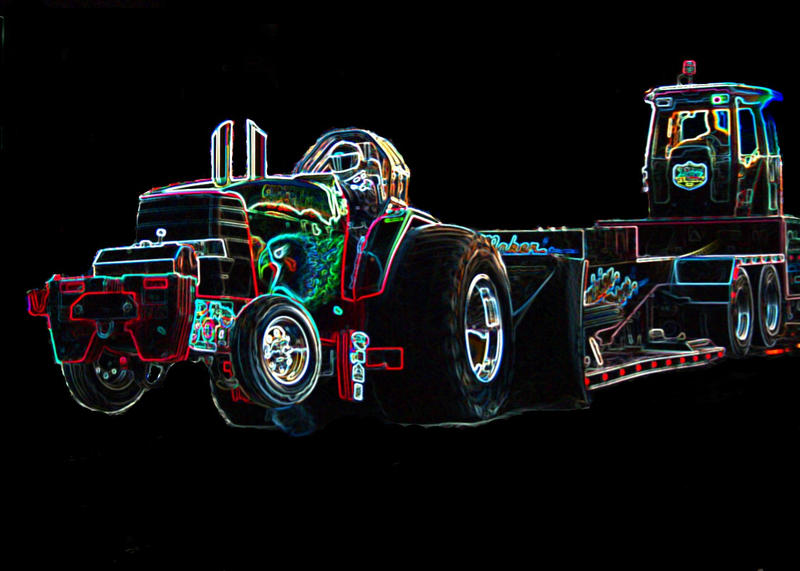 Tractor Pull Artwork : Tractor pulling by flygaldoreen on deviantart