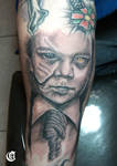Zombie Child Tattoo