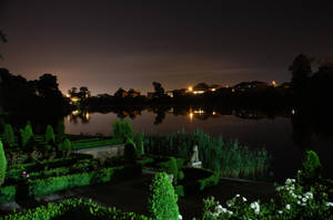 Mogosoaia_Lake_by_Night