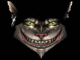 Cheshire Cat by Greebley