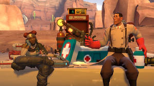 Lifeline And Medic Meet Up