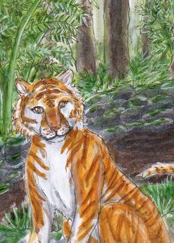 goldener Tiger by nanami1995