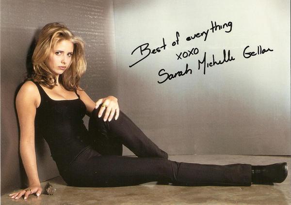 Sarah Michelle Gellar Natural Hair