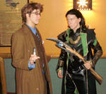 .:Doctor Who and Loki:.