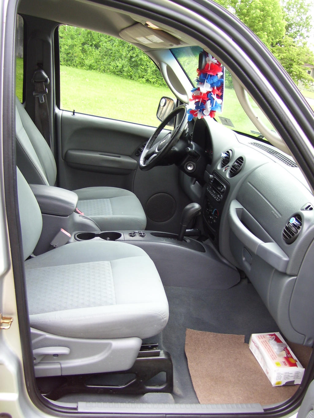 Front inside of my Jeep