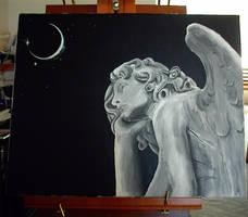 Angel Statue by Asilwen