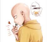 [one-punch man] cute Saitama