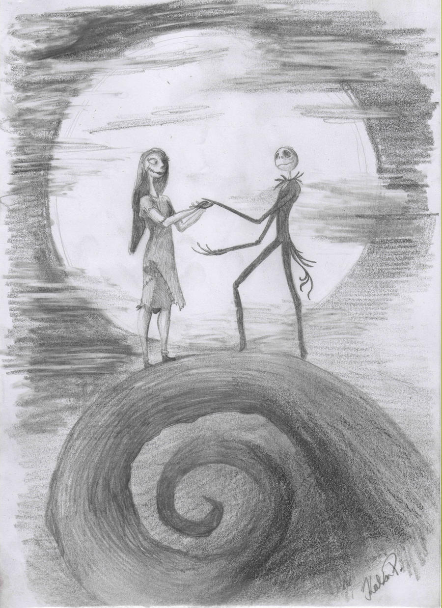 Jack And Sally by aidinera on DeviantArt